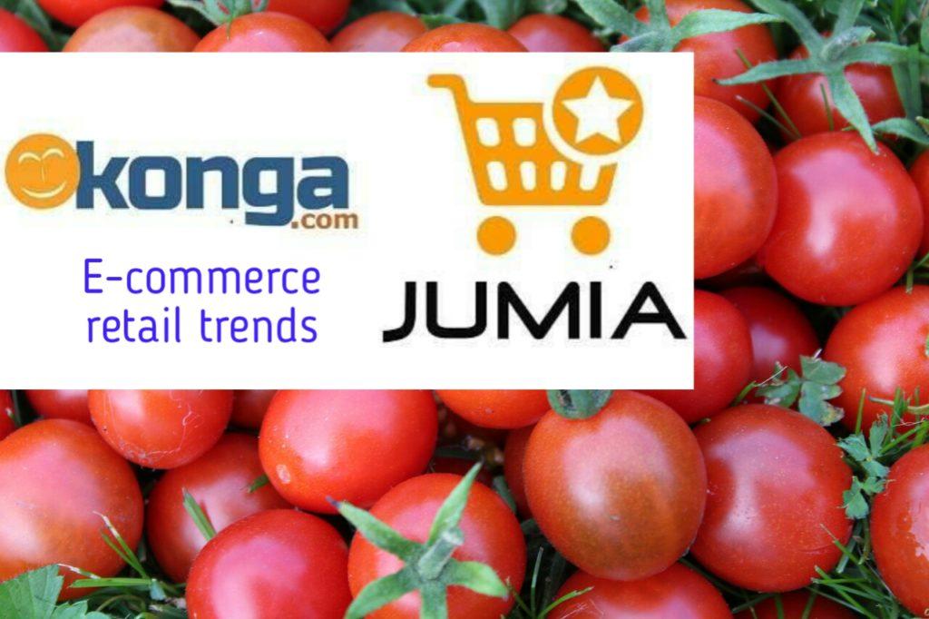 Konga and Jumia retail