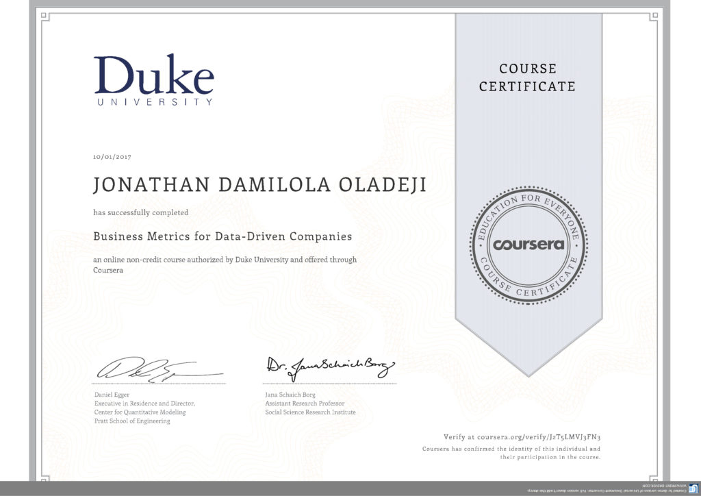 Coursera Journey My Real Estate Business Analyst Goals