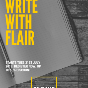 write with flair